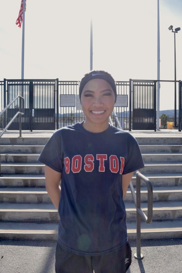 Doryn Gomez, 19, psychology major.