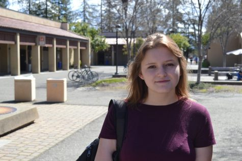 Incoming Foothill-De Anza student trustee, Genevieve Kolar, 20, math major