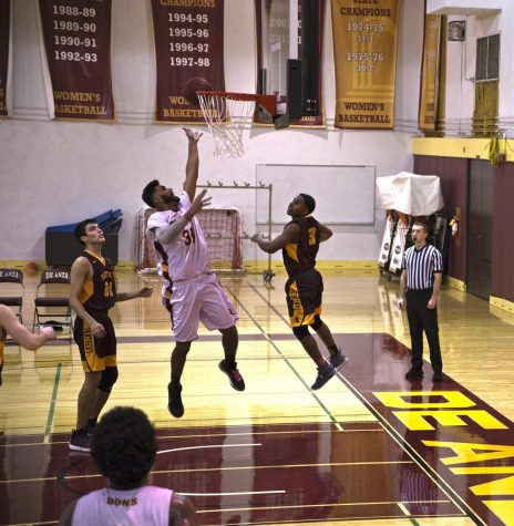 Men's basketball fighting uphill battle to make playoffs
