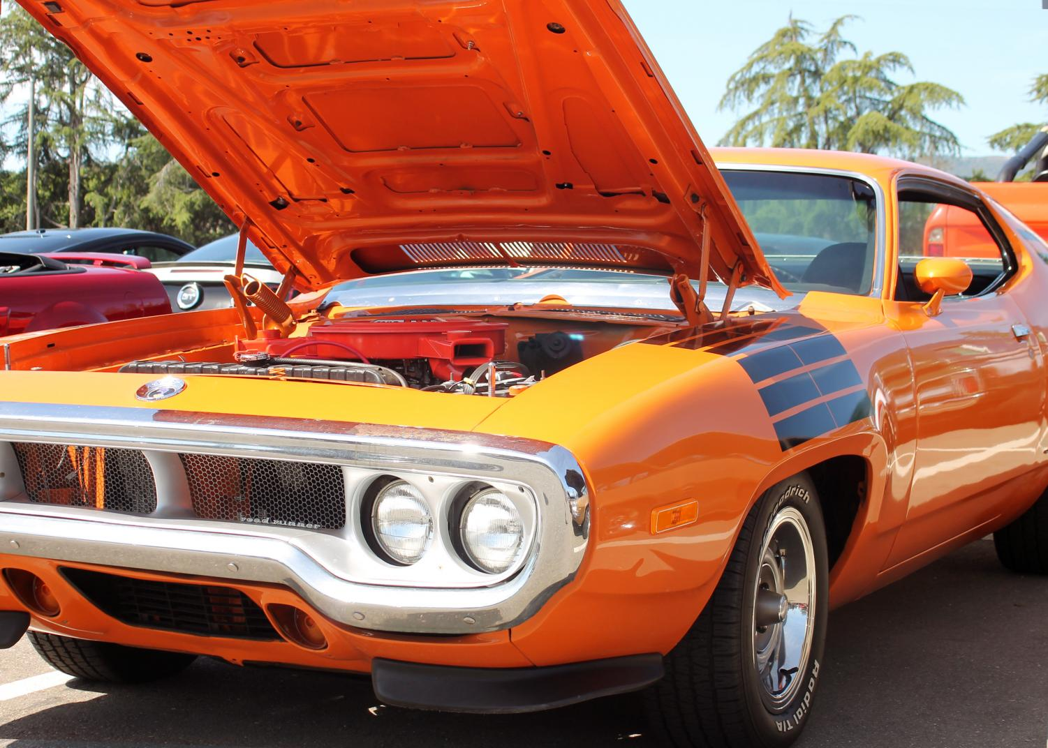 +The+early+70s+Plymouth+Road+Runner+highlights+6th+Annual+De+Anza+College+Auto+Tech+Car+Show+on+April+13th.