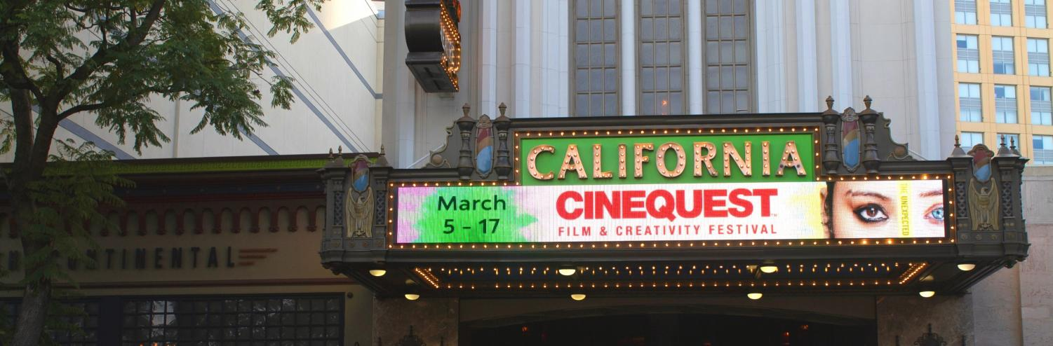 California Theater in Downtown San Jose prior to closing night screening, March 17, 2019