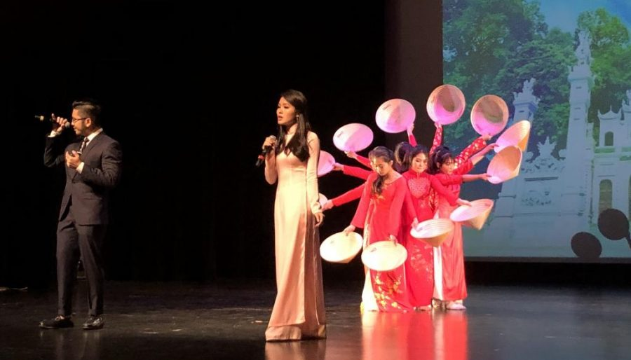 De Anza College VSA club members performers at their 2019 cultural show on May 12.