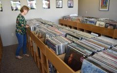 Vinyl record collections popular among young adults