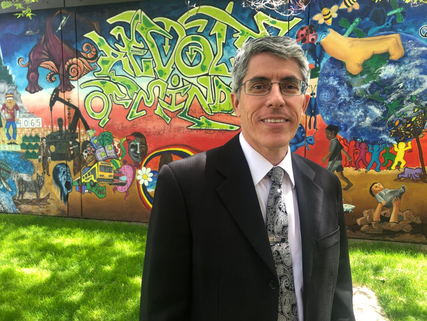 Daniel Smith, De Anza College's new dean of creative arts, has been passionate about the arts since college. He oversees art, dance, film and television, music, photography and theater.
