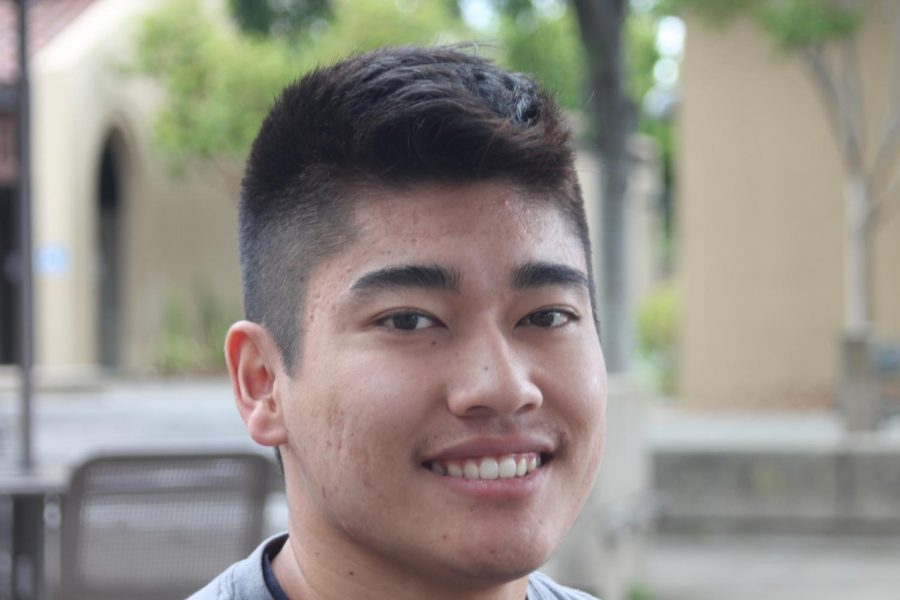 """Jason Minagawa, 20, business """"They shouldn't get paid but I like the idea of  a scholarship if they can show that they are working hard."""""""