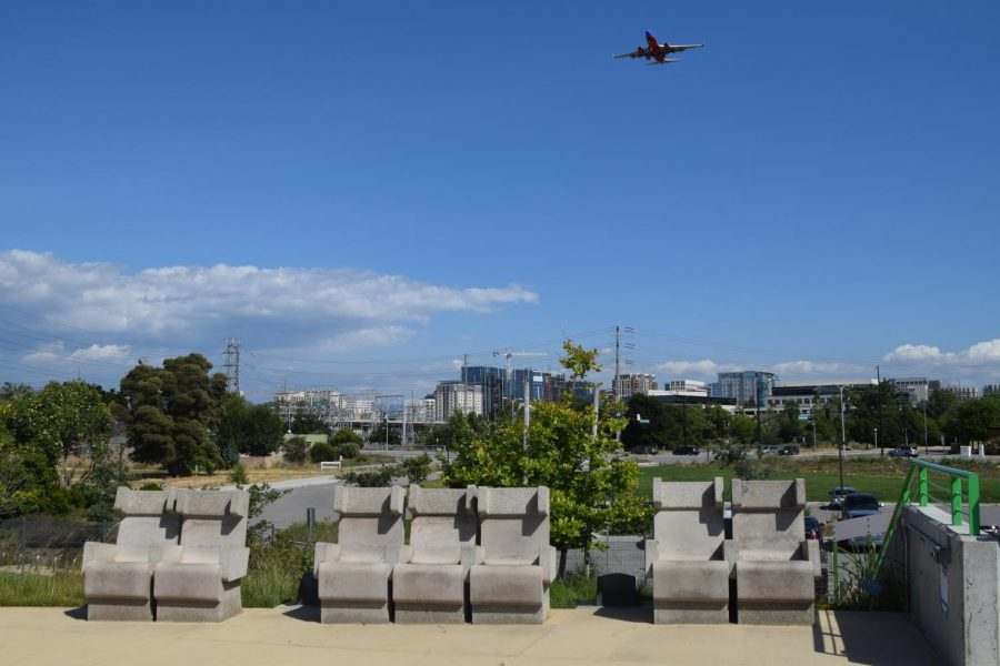 Concrete+seats+that+overlook+Rotary+PlayGround+and+Downtown+San+Jose