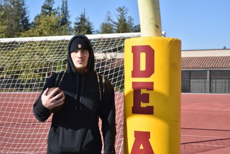 Starting quarterback Oliver Svrsky, 22, credits his family for his success.