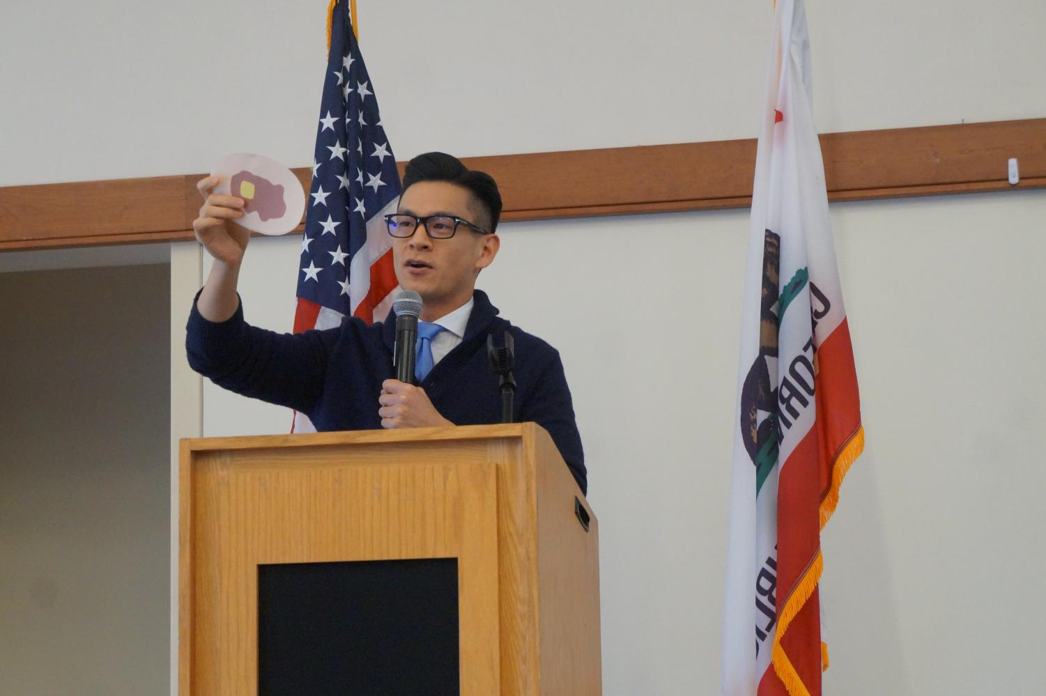 Assemblyman Evan Low holds community event for members to hear out proposals and suggestions