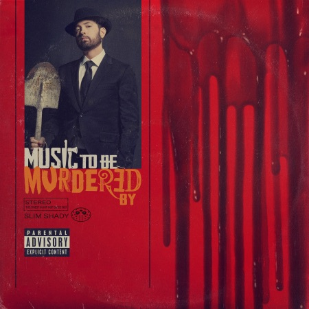"""Music To Be Murdered By""  Source: https://www.eminem.com/"