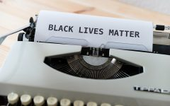 What is behind the ink that claims, Black Lives Matter. Image from pixabay.com