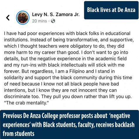 Former De Anza College professor faces backlash after posting about 'negative experiences' with Black students, faculty