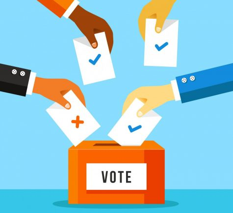 The FAPAC is encouraging students to vote in the upcoming election, through outreach efforts such as presenting in different classes.