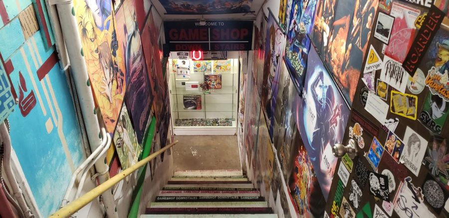 Gaming in the basement: A peek into Game Shop Downstairs