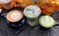 A drink selection from Paper Moon's Halloween menu