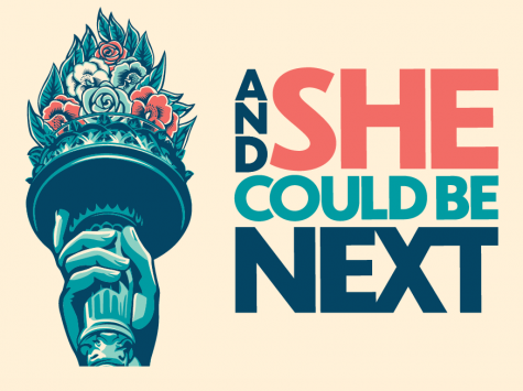 """And She Could Be Next"" poster"