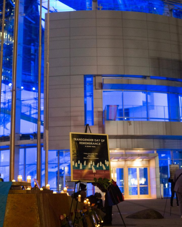 The Transgender Day Of Remembrance vigil was hosted at San Jose City Hall.