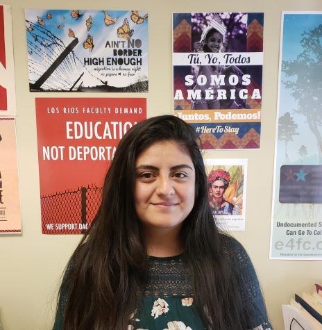 Angélica Esquivel, program coordinator of VIDA and HEFAS director, hopes to dispel rumors of recent ICE threats.