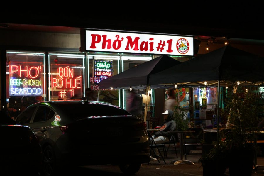 Pho Mai serves both Vietnamese and Filipino cuisine.