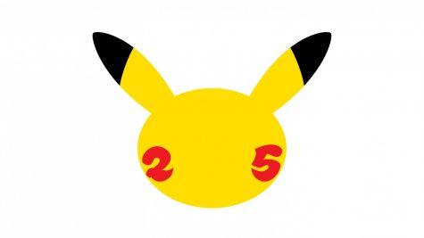 Pokémon logo for the 25th anniversary, courtesy of Nintendo