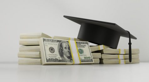 Many graduate with large amounts of student loans that they will repay for decades.
