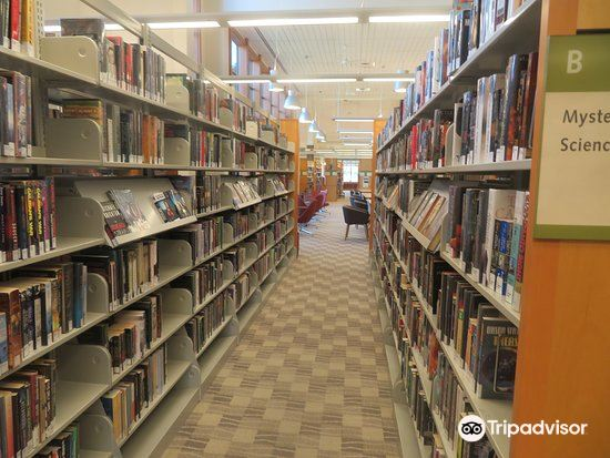 As COVID restrictions are lowered, many libraries, including Sunnyvale Public Library (pictured) are opening up