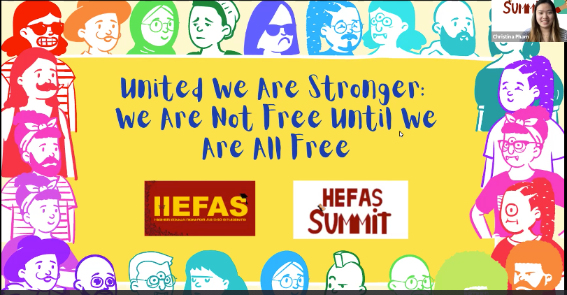 Image presented at the HEFAS 7th Annual Summit Conference, themed