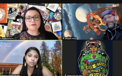 Panelists from De Anza's Chicanx and Latinx Studies speaker event