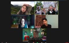 Panelists from De Anza's