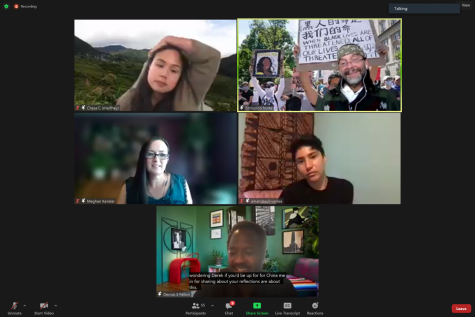 Panelists from De Anza